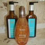 óleos pro cabelo