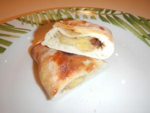 Grazzie - tortinha de banana com canela