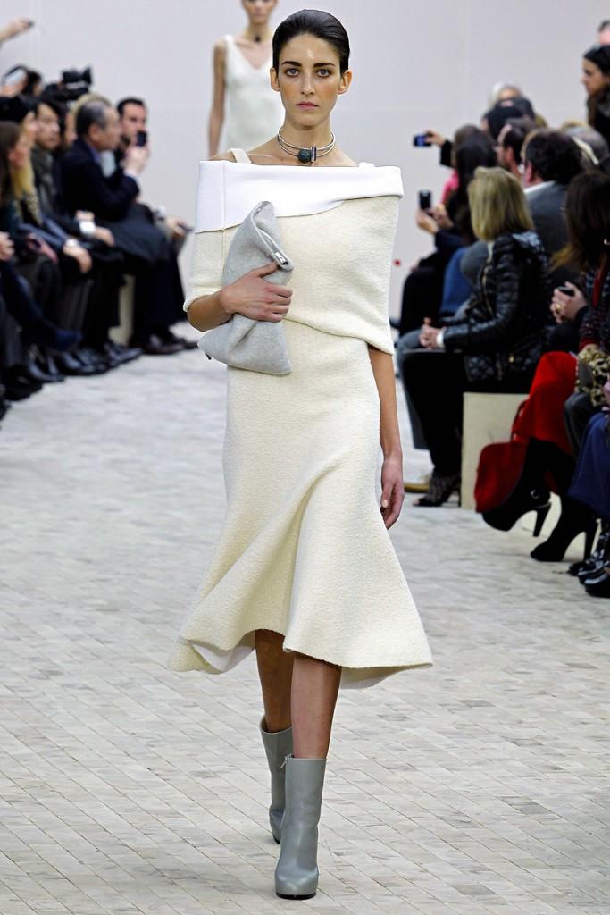 celine roupa branca all white