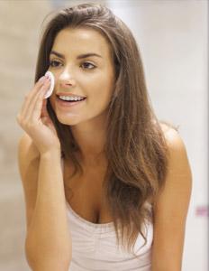 remover a maquiagem