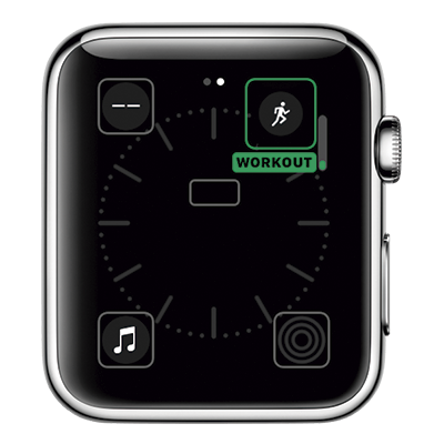 Apple Watch Complicações