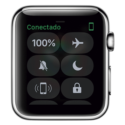 Apple Watch Central de Controle